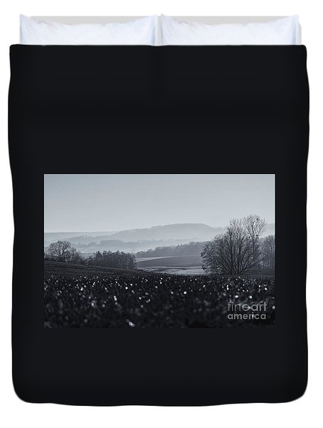 Far Away, The Misty Mountains Cold Duvet Cover