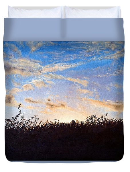 Far Horizons Duvet Cover