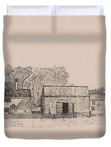 Farm Dwellings Duvet Cover