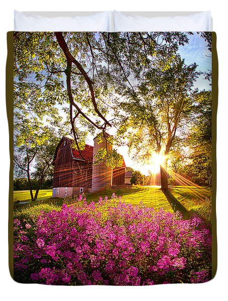 Farm Fresh Duvet Cover by Phil Koch
