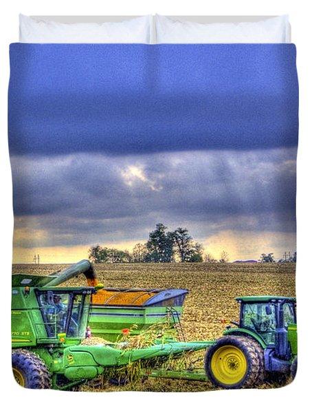 Farm Harvest 1 Duvet Cover