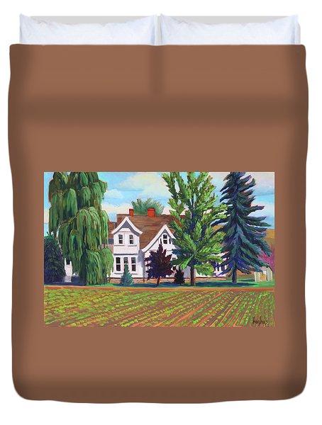 Farm House - Chinden Blvd Duvet Cover