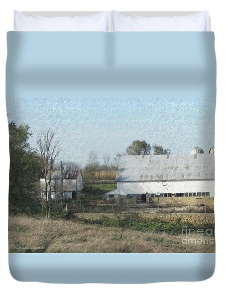 Farm Land Duvet Cover