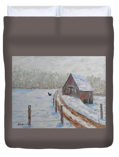 Farm Land Duvet Cover