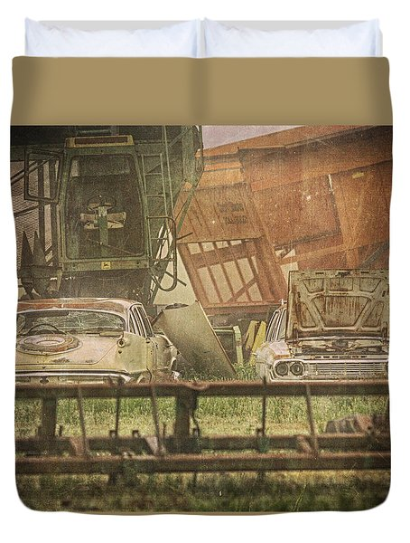 Farm Machines Duvet Cover