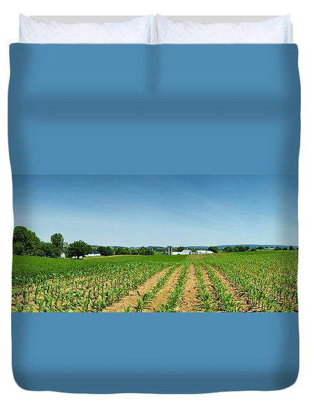 Farm Panorama Duvet Cover