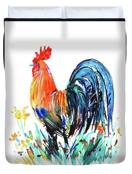 Farm Rooster Duvet Cover