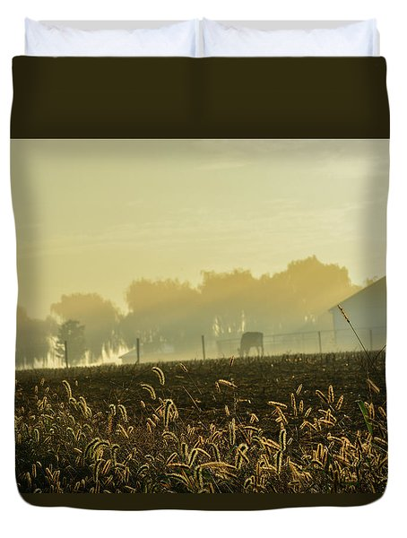 Farm Sunrise #4 Duvet Cover