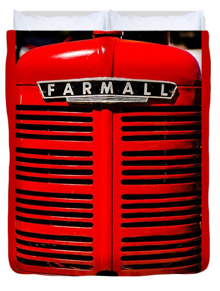 Farmall Grill Duvet Cover by Sherman Perry