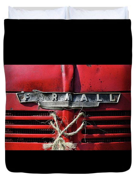Farmall Tried And True Duvet Cover