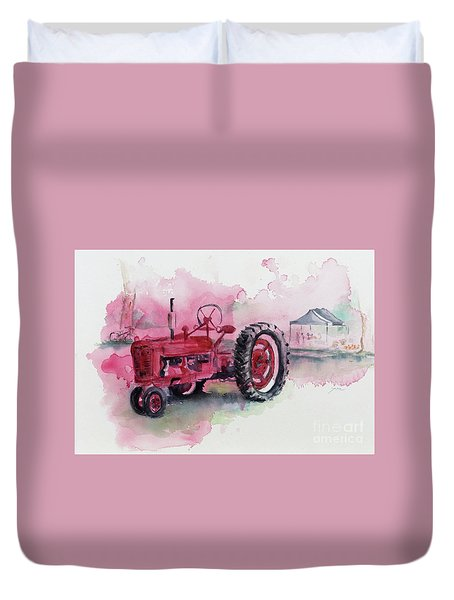Farmall Duvet Cover