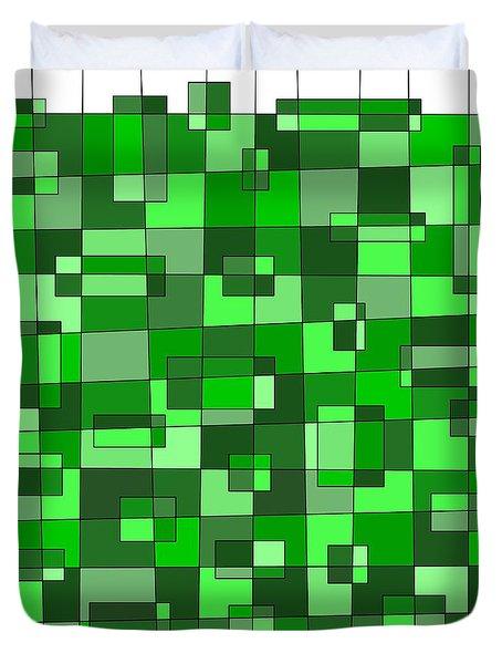 Farmer Green Duvet Cover by Jeff Gater