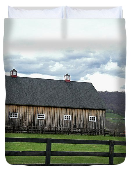 Farmhouse In Northern Virginia Duvet Cover