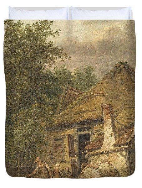 Farmhouse Near Helvoirt   Duvet Cover
