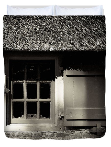 Farmhouse Window Duvet Cover