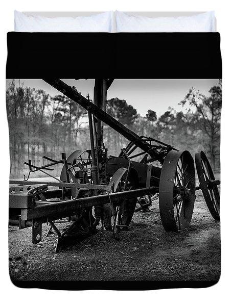 Farming Equipment Duvet Cover