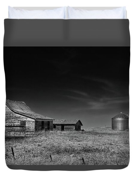 Farming Life Mono 1 Duvet Cover