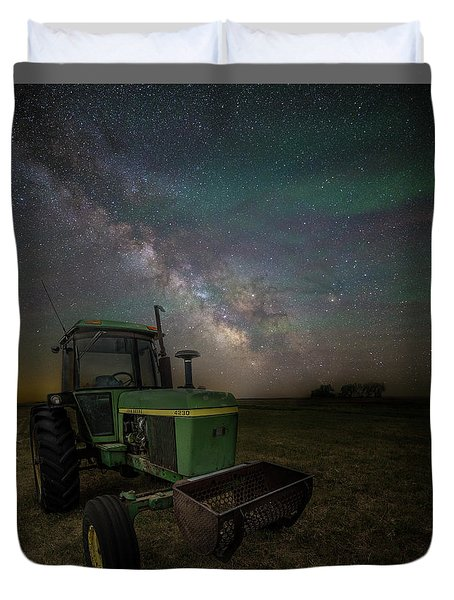 Duvet Cover featuring the photograph Farming The Rift 7 by Aaron J Groen