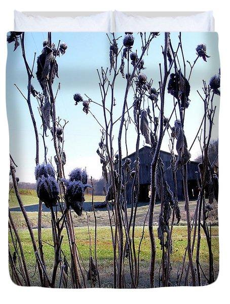 Farmland In Kentucky Duvet Cover