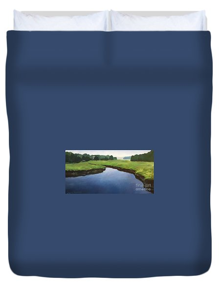 Farnhams Creek Duvet Cover