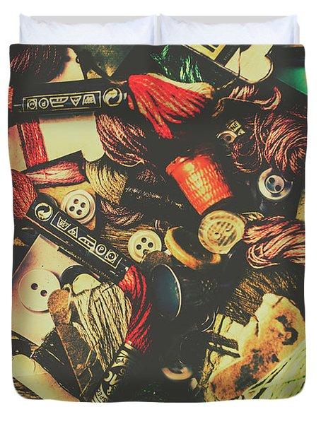 Fashion Designers Desk  Duvet Cover