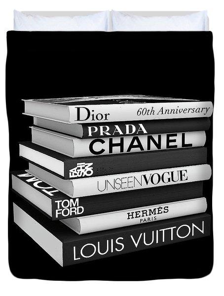 Fashion Or Fiction Duvet Cover