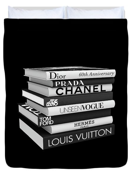 Fashion Or Fiction Duvet Cover