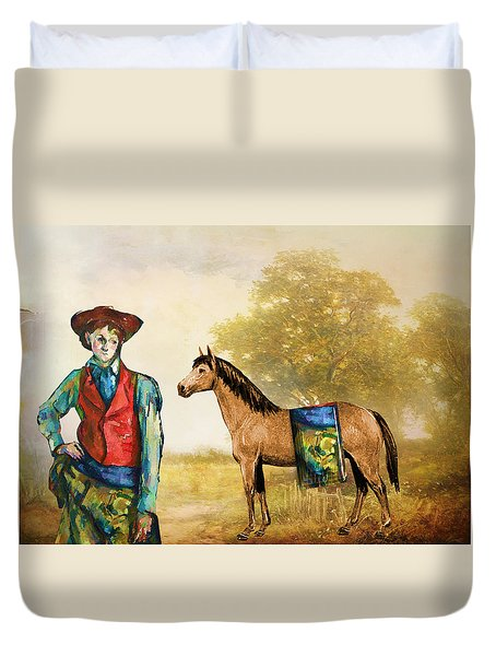 Fashionably Western Duvet Cover