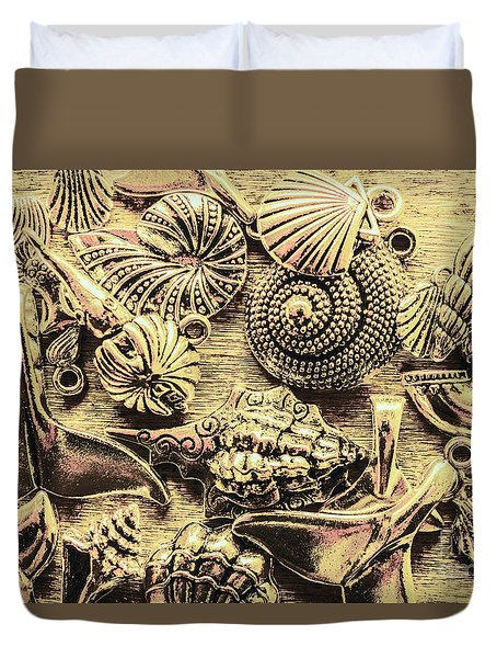 Fashioning A Oceanic Theme Duvet Cover