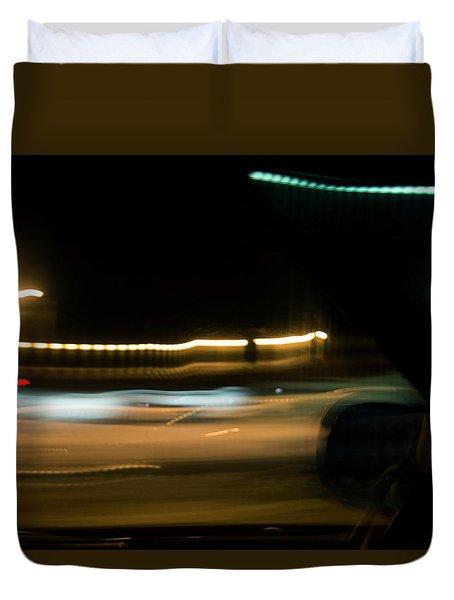 Fast Lane Duvet Cover