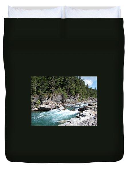 Fast River Duvet Cover