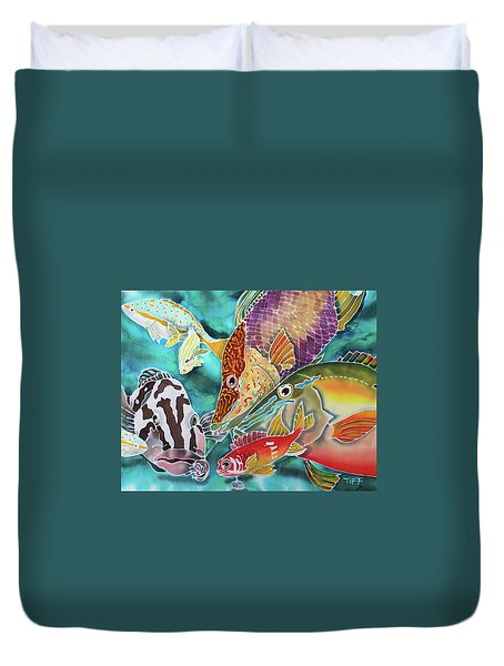Fatal Attraction Duvet Cover