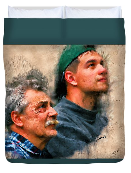 Father Duvet Cover