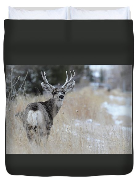 Father Deer Duvet Cover