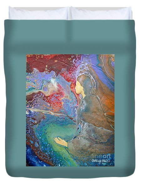Father Of Lights Duvet Cover