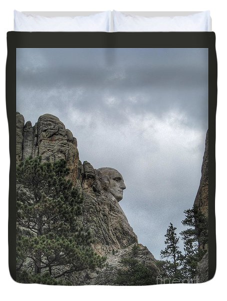 Father Of The Country Duvet Cover