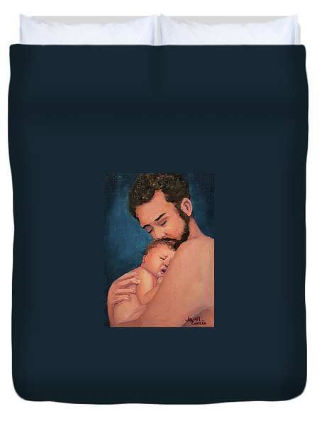 Fatherhood Duvet Cover