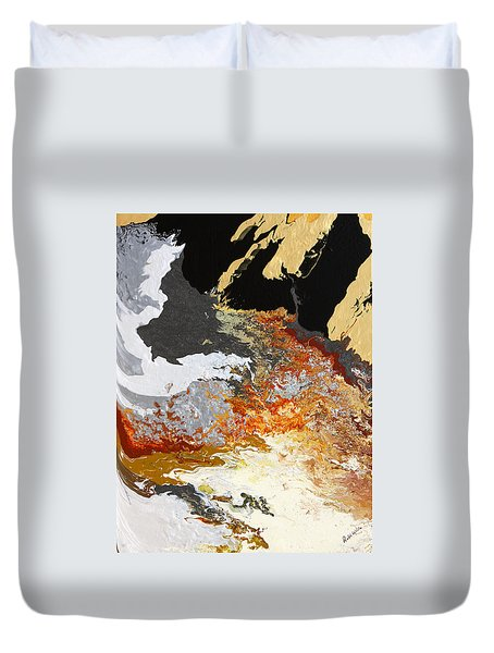 Fathom Duvet Cover by Ralph White