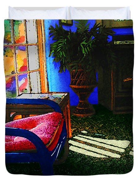 Faux Fauve Interior Duvet Cover