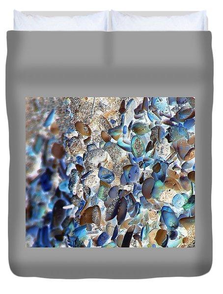 Faux Sea Glass Duvet Cover