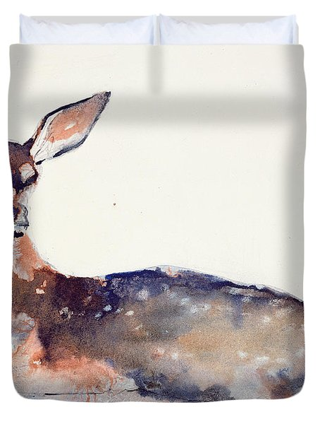Fawn Duvet Cover by Mark Adlington