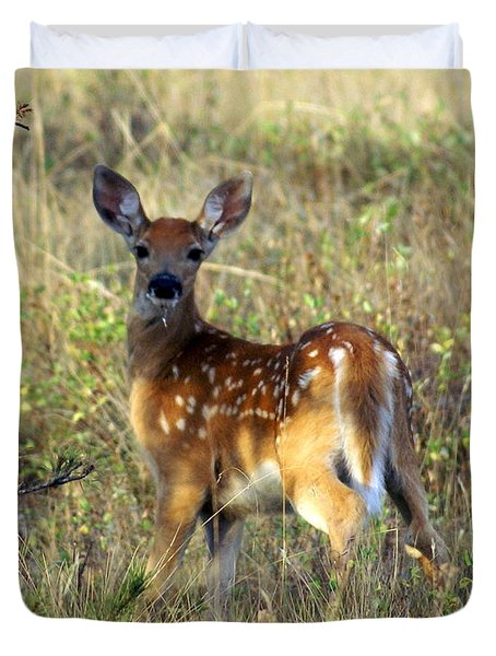 Fawn Duvet Cover by Marty Koch