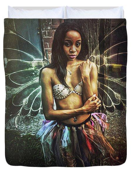 Faye Dona II Duvet Cover by Donald Yenson