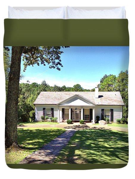 Fdr's Little White House Duvet Cover