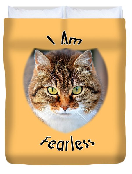 Fearless Duvet Cover by Judi Saunders