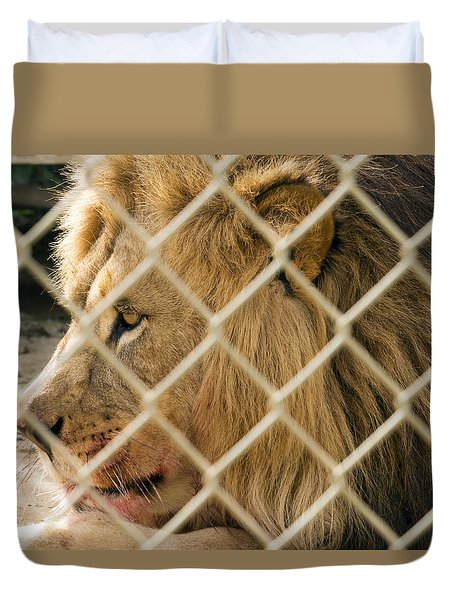 Feast For A King Duvet Cover