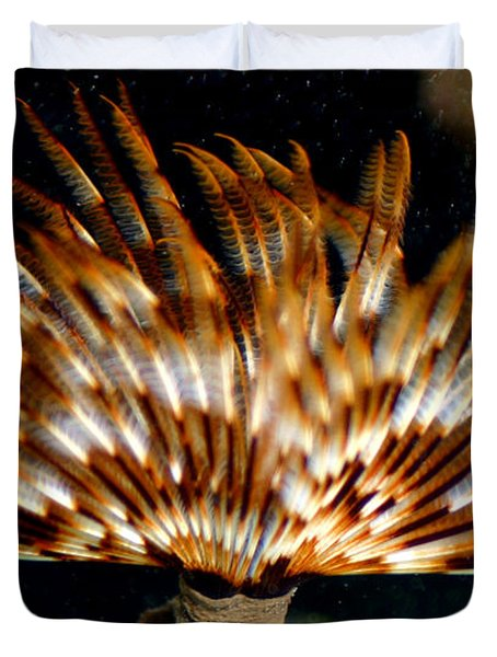 Feather Duster Duvet Cover by Anthony Jones