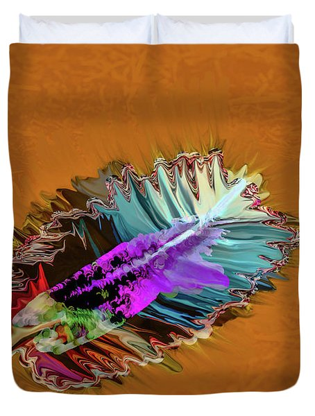 Feather #h8 Duvet Cover