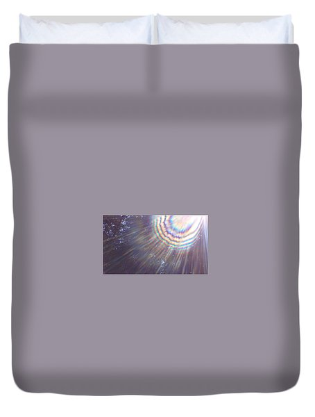 Feather Of The Light Duvet Cover
