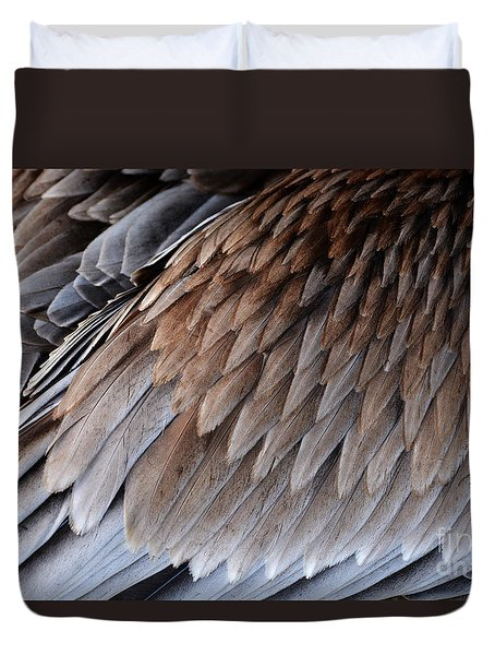 Feathers Cascade Duvet Cover